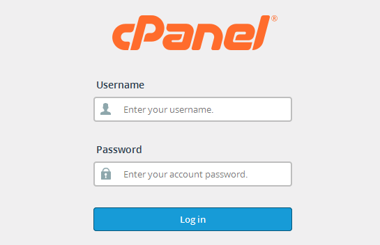 Halaman Login Cpanel netid.co.id
